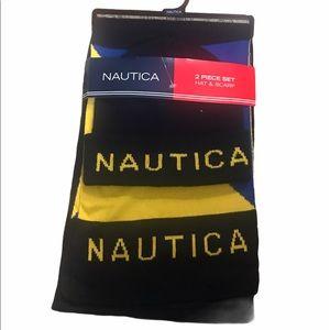Nautica 2- Piece Set Scarf & Hat